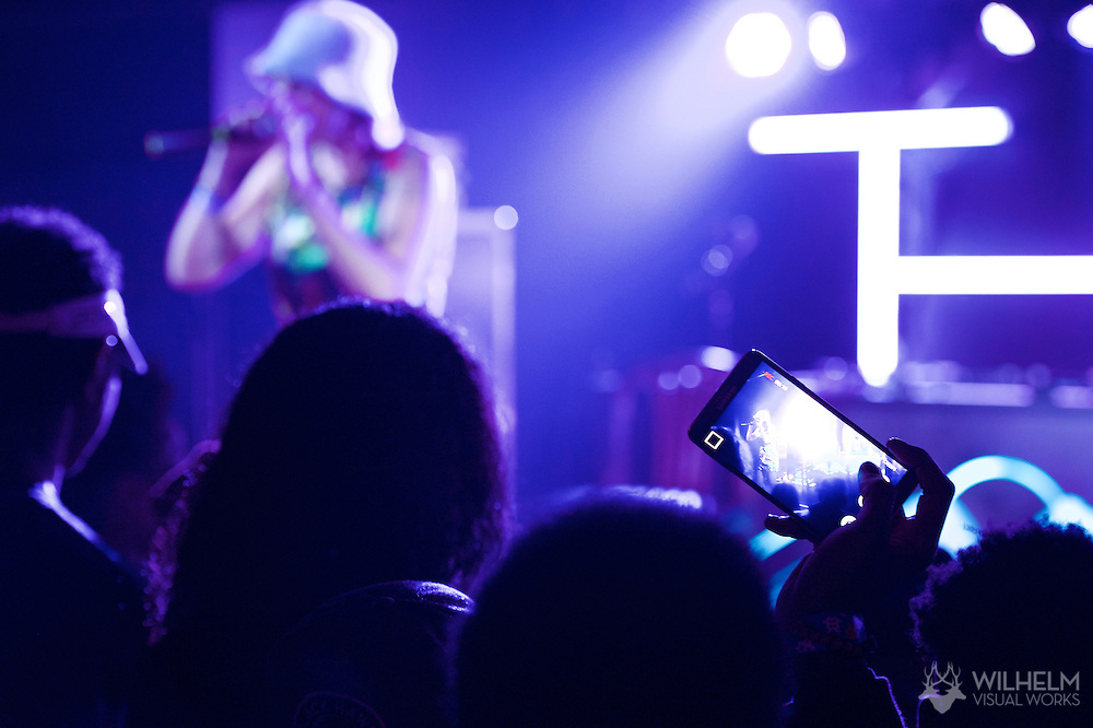 Lily Fangz performs at Red Bull Sound Select Presents Denver at the 1UP on Colfax in Denver, CO, USA, on 11 December, 2014.