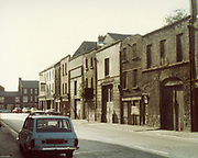 Old Dublin Amature Photos of Dublin July 1983 WITH, Regans Pub, Tara St,  Old House Tallagh, North Kings St, Old Church, Parnell St, Moor St, Dockerlls, Little Brittan St, Tobacco Distributors, Pearse St. Old amateur photos of Dublin streets churches, cars, lanes, roads, shops schools, hospitals