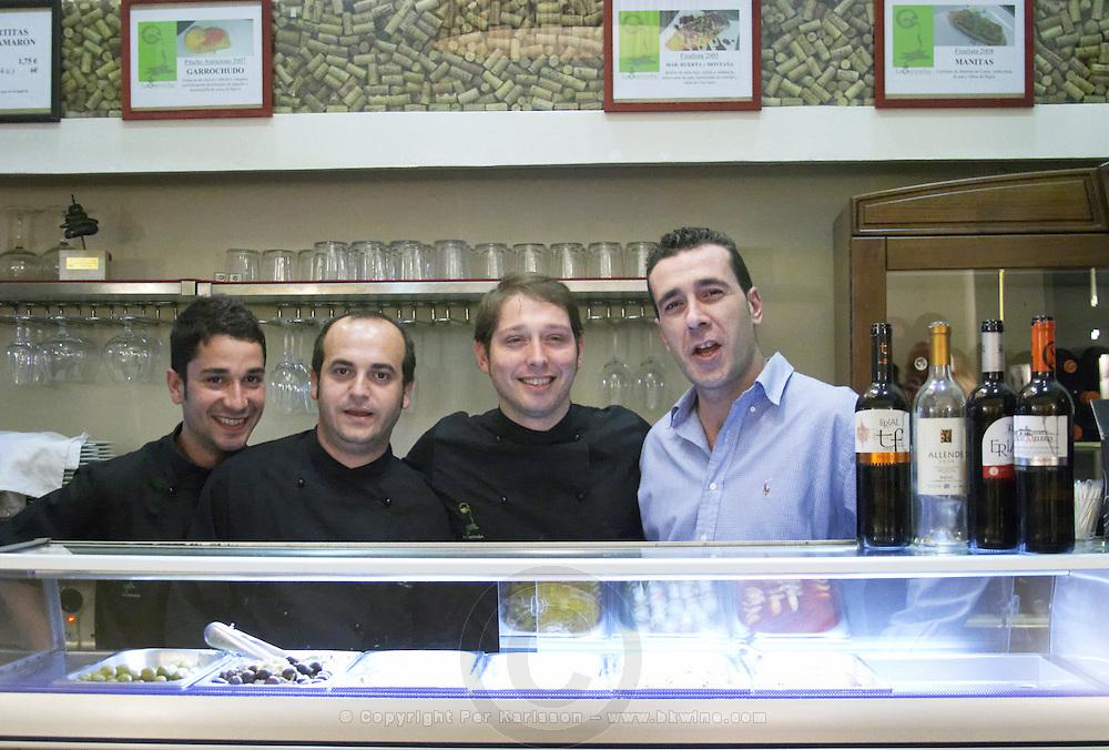 the restaurant team the restaurant team Restaurant La Garrocha Valladolid spain castile and leon