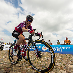 WIJSTER (NED) June 19: <br /> CYCLING <br /> Dutch Nationals Road WOMEN up and around the Col du VAM<br /> Amy Pieters