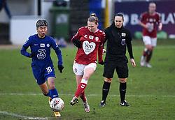 Molly Pike of Bristol City Women - Mandatory by-line: Ryan Hiscott/JMP - 14/02/2021 - FOOTBALL - Twerton Park - Bath, England - Bristol City Women v Chelsea Women - FA Womens Super League 1