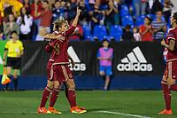 Spain's Amanda Sampedro during the match of  European Women's Championship 2017 at Leganes, between Spain and Finland. September 20, 2016. (ALTERPHOTOS/Rodrigo Jimenez)