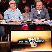 NLD/Hilversum/20171215 - Dick Advocaat te gast bij Voetbal Inside, Rene van der Gijp en Dick Advocaat
