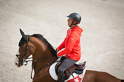 Pius Schwizer, (SUI), Toulago - Jumping Official Training Session - Alltech FEI World Equestrian Games™ 2014 - Normandy, France.<br /> © Hippo Foto Team - Dirk Caremans<br /> 01/09/14