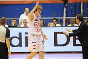 DESCRIZIONE : Milano  Lega A 2011-12 EA7 Emporio Armani Milano Scavolini Siviglia Pesaro play off semifinale gara 2<br /> GIOCATORE : Nicolo Melli<br /> CATEGORIA : fair play<br /> SQUADRA : EA7 Emporio Armani Milano<br /> EVENTO : Campionato Lega A 2011-2012 Play off semifinale gara 2 <br /> GARA : EA7 Emporio Armani Milano Scavolini Siviglia Pesaro<br /> DATA : 31/05/2012<br /> SPORT : Pallacanestro <br /> AUTORE : Agenzia Ciamillo-Castoria/ GiulioCiamillo<br /> Galleria : Lega Basket A 2011-2012  <br /> Fotonotizia : Milano  Lega A 2011-12 EA7 Emporio Armani Milano Scavolini Siviglia Pesaro play off semifinale gara 2<br /> Predefinita :