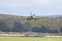 The 15th September 2015 marked the 75th anniversary of Victory for the Royal Air Force in the Battle of Britain. An estimated 40 Spitfires, Hurricanes and a Blenheim from across the UK, USA and Europe came together at the Goodwood Aerodrome, West Sussex, to take part in an historic flypast over the South of England. This event brought together in one place more Battle of Britain aircraft than at any time since World War Two.