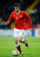 Fotball<br /> Moldovia v Sveits<br /> 28.03.2009<br /> Foto: EQ Images/Digitalsport<br /> NORWAY ONLY<br /> <br /> Tranquillo Barnetta (SUI)