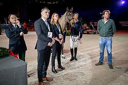 Everse Mario, Pedersen Jan, Everse Mischa, NED, breeders of Zinius, Smolders Harrie, Everse Mario<br /> CHI Genève 2018<br /> © Hippo Foto - Dirk Caremans<br /> 08/12/2018