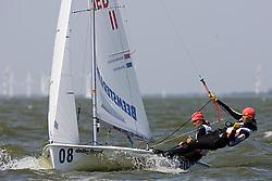 08_003015 © Sander van der Borch. Medemblik - The Netherlands,  May 24th 2008 . Day 4 of the Delta Lloyd Regatta 2008.