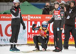 02.02.2019, Energie AG Skisprung Arena, Hinzenbach, AUT, FIS Weltcup Ski Sprung, Damen, Wertungsdurchgang, im Bild v.l. Silje Opseth (NOR), Maren Lundby (NOR), Anne Odine Stroem (NOR) // v.l. Silje Opseth (NOR), Maren Lundby (NOR), Anne Odine Stroem (NOR) during the woman's Competition Jump of FIS Ski Jumping World Cup at the Energie AG Skisprung Arena in Hinzenbach, Austria on 2019/02/02. EXPA Pictures © 2019, PhotoCredit: EXPA/ Reinhard Eisenbauer