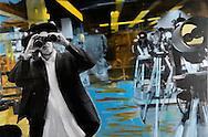 NYC in Colors.  Horn/Andersen<br /> Binoculars    60x90Kr.     5.000,-<br /> Foto: © Lars Horn / Baghuset<br /> Date : 15.07.13