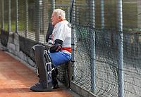 WAGENINGEN -  keeper Dick Bellinga. . lustrum 2019,  60+ hockey, 30jaar.   met wedstrijden en andere festiviteiten.   COPYRIGHT KOEN SUYK