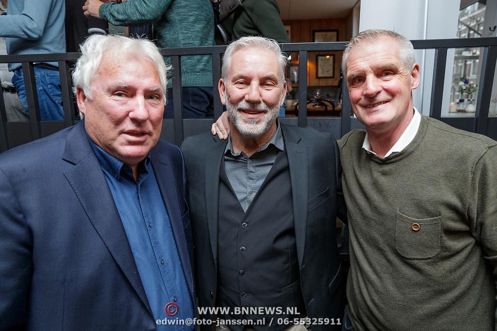 NLD/Amsterdam/20190308 - Boekpresentatie Gerard van der Lem, Gerard , ...... en Heini Otto