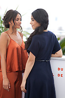 Meleinda Elasfour and Hafsia Herzi at Mektoub, My Love: Intermezzo film photo call at the 72nd Cannes Film Festival, Thursday 23rd May 2019, Cannes, France. Photo credit: Doreen Kennedy