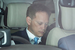 © Licensed to London News Pictures. 03/09/2019. London, UK. Secretary of State for Transport Grant Shapps arrives at The Houses of Parliament. Parliament is returning from the summer recess today with MPs expected to try to stop a no-deal Brexit. Prime Minister Boris Johnson has threatened to hold a snap election if the legislation is passed.  Photo credit: George Cracknell Wright/LNP