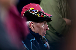 A general view of a West Ham United fan in the stands
