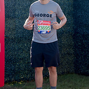 George Lamb at London Marathon 2018 on 22 April 2018, Blackhealth, London, UK.