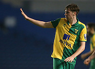 Norwich City's Conor McGrandles during the Barclays U21 Premier League Cup match between Brighton U21 and U21 Norwich City at the American Express Community Stadium, Brighton and Hove, England on 12 November 2015.