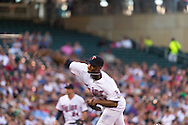 Samuel Deduno #21 of the Minnesota Twins pitches against the Kansas City Royals on June 27, 2013 at Target Field in Minneapolis, Minnesota.  The Twins defeated the Royals 3 to 1.  Photo by Ben Krause
