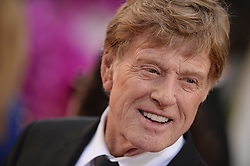 File photo - Robert Redford arriving at the 71st annual Golden Globe Awards held at the Beverly Hilton in Beverly Hills, Los Angeles, CA, USA, January 12, 2014. Oscar winner Robert Redford will retire from acting following this autumn's release of his upcoming film The Old Man & The Gun, the 81-year-old told Entertainment Weekly in a story published on Monday. Photo by Lionel Hahn/ABACAPRESS.COM