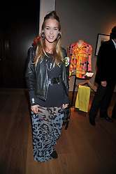 MARY CHARTERIS at fundraising dinner and auction in aid of Liver Good Life a charity for people with Hepatitis held at Christies, King Street, London on 16th September 2009.
