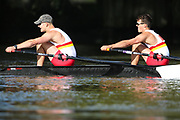 Crew: 1 - Bourne / O'Mahony - Tideway Scullers School - Op 2x Championship <br /> <br /> Pairs Head 2020