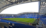 A general view of the inside of the stadium ahead the Premier League match at the American Express Community Stadium, Brighton and Hove. Picture date: 8th February 2020. Picture credit should read: Paul Terry/Sportimage