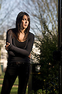 Author and writer Helen Walsh, pictured in Liverpool shortly before the publication of her second novel entitled Once Upon a Time in England. Walsh was born in Warrington, England in 1977 and published her first novel, Brass, to critical acclaim in 2005. Her partner was novelist Kevin Sampson.
