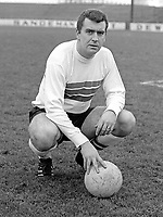 John Colrain, footballer, manager, Glentoran FC, N Ireland, Scottish, Under 23 International. January 1968. 196801000084a<br /> <br /> Copyright Image from Victor Patterson, Belfast, UK<br /> <br /> t: +44 28 9066 1296 (from Rep of Ireland 048 9066 1296)<br /> m: +44 7802 353836<br /> e: victorpattersonbelfast@gmail.com<br /> <br /> www.images4media.com<br /> <br /> Please see my full Terms and Conditions of Use at https://www.images4media.com/p/terms-conditions - it is IMPORTANT that you familiarise yourself with them.<br /> <br /> Images used online incur an additional cost. This cost should be agreed in writing in advance. Online images must be visibly watermarked i.e. © Victor Patterson or that of the named photographer within the body of the image. The original metadata must not be deleted from images used online.<br /> <br /> This image is only available for the use of the download recipient i.e. television station, newspaper, magazine, book publisher, etc, and must not be passed on to a third party. It is also downloaded on condition that each and every usage is notified within 7 days to victorpattersonbelfast@gmail.com.<br /> <br /> The right of Victor Patterson (or the named photographer) to be identified as the author is asserted in accordance with The Copyright Designs And Patents Act (1988). All moral rights are asserted.
