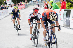 Jack Haig (AUS) of Orica - Scott, Rafal Majka (POL) of Bora - Hansgrohe and Giovanni Visconti (ITA) of Bahrain-Merida during Stage 3 of 24th Tour of Slovenia 2017 / Tour de Slovenie from Celje to Rogla (167,7 km) cycling race on June 16, 2017 in Slovenia. Photo by Vid Ponikvar / Sportida
