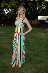JADE PARFITT at the annual Serpentine Gallery Summer Party in association with Swarovski held at the gallery, Kensington Gardens, London on 11th July 2007.<br /><br />NON EXCLUSIVE - WORLD RIGHTS