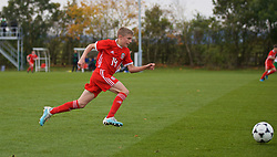 WREXHAM, WALES - Wednesday, October 30, 2019: Wales' Morgan Williams during the 2019 Victory Shield match between Wales and Republic of Ireland at Colliers Park. (Pic by David Rawcliffe/Propaganda)