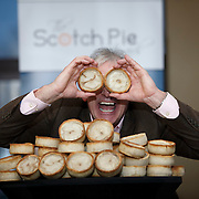 The Kandy Bar of Saltcoats winners Scotch Pie Awards  2016. Owner Stephen McAllister celebrates at the awards ceremony at the Westerwood Hotel, Cumbernauld.  Picture Robert Perry 13th Jan 2015<br /> <br /> Must credit photo to Robert Perry<br /> FEE PAYABLE FOR REPRO USE<br /> FEE PAYABLE FOR ALL INTERNET USE<br /> www.robertperry.co.uk<br /> NB -This image is not to be distributed without the prior consent of the copyright holder.<br /> in using this image you agree to abide by terms and conditions as stated in this caption.<br /> All monies payable to Robert Perry<br /> <br /> (PLEASE DO NOT REMOVE THIS CAPTION)<br /> This image is intended for Editorial use (e.g. news). Any commercial or promotional use requires additional clearance. <br /> Copyright 2014 All rights protected.<br /> first use only<br /> contact details<br /> Robert Perry     <br /> 07702 631 477<br /> robertperryphotos@gmail.com<br /> no internet usage without prior consent.         <br /> Robert Perry reserves the right to pursue unauthorised use of this image . If you violate my intellectual property you may be liable for  damages, loss of income, and profits you derive from the use of this image.