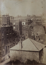 King Street in Kensington photographed in 1867 and featuring in a book of old photographs to be auctioned at Bonhams. Bonhams, Knightsbridge, London, November 23 2018.