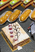 Patisserie and Chocolatier shop Carbillet in Rue des Forges in Dijon in the Burgundy region of France