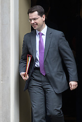 Downing Street, London, February 7th 2017. Northern Ireland Secretary James Brokenshire leaves 10 Downing Street following the weekly UK cabinet meeting.