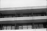 14/07/1972<br /> 07/14/1972<br /> 14 July 1972<br /> Muhammad Ali at Oppermans Country Club Hotel, Kilternan, Co Dublin. Muhammad Ali on the balcony of his room.