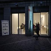 Fuorisalone edizione 2012: gli eventi collaterali nelle vie centrali di Milano durante il salone internazionale del mobile. Via Pontaccio<br /> <br /> Fuorisalone 2012 edition: the collateral events in Milan downtown streets during the international furniture show. Pontaccio street.