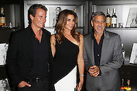 Rande Gerber, Cindy Crawford, George Clooney, Cindy Crawford  'Becoming' book & Casamigos Tequila - launch party, The Beaumont Hotel, London UK, 01 October 2015, Photo by Richard Goldschmidt
