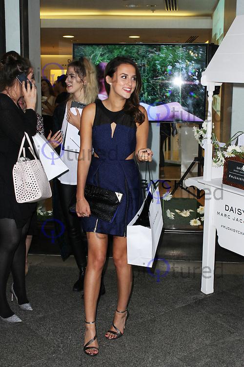 Lucy Watson, Marc Jacobs Fragrance: Tweet Shop - Press Launch, Covent Garden, London UK, 14 August 2014; Photo By Brett D. Cove