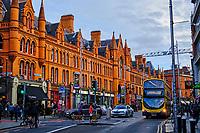 République d'Irlande, Dublin, batiment georgien sur South Great George's street // Republic of Ireland, Dublin, georgian building on South Great George's street
