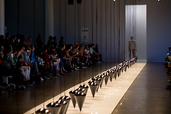 August 29, 2017 - Sao Paulo, Sao Paulo, Brazil - Model presents creation by Lenny Niemeyer, during the Sao Paulo Fashion Week, N44 Summer 2018 edition, in Sao Paulo, Brazil. (Credit Image: © Paulo Lopes via ZUMA Wire)