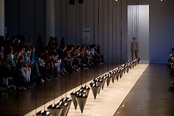 August 29, 2017 - Sao Paulo, Sao Paulo, Brazil - Model presents creation by Lenny Niemeyer, during the Sao Paulo Fashion Week, N44 Summer 2018 edition, in Sao Paulo, Brazil. (Credit Image: © Paulo Lopes via ZUMA Wire)