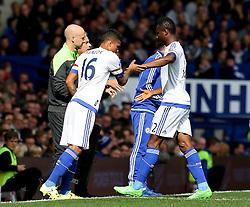 Kenedy of Chelsea replaces John Obi Mikel - Mandatory byline: Matt McNulty/JMP - 07966386802 - 12/09/2015 - FOOTBALL - Goodison Park -Everton,England - Everton v Chelsea - Barclays Premier League