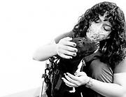 Fabiola with Roma at California Animal Rehab, 8/24/21.