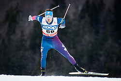 Hanneman Reese (USA) during Man 1.2 km Free Sprint Qualification race at FIS Cross<br /> Country World Cup Planica 2016, on January 16, 2016 at Planica,Slovenia. Photo by Ziga Zupan / Sportida