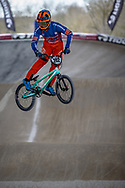 #202 (VAN DE GROENENDAAL Kevin) NED at Round 2 of the 2018 UCI BMX Superscross World Cup in Saint-Quentin-En-Yvelines, France.