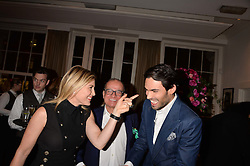 Left to right, Hofit Golan, Touker Suleyman and Mark-Francis Vandelli at the Debrett's 500 Party recognising Britain's 500 most influential people, held at BAFTA, 195 Piccadilly, London England. 23 January 2017.