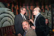 MARC GLIMCHER; KEITH TYSON; STEPHEN FRIEDMAN, Dinner to celebrate the opening of Pace London at  members club 6 Burlington Gdns. The dinner followed the Private View of the exhibition Rothko/Sugimoto: Dark Paintings and Seascapes.