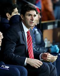 Nottingham Forest manager Aitor Karanka before kick off